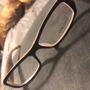 Versace tortoise shell glasses